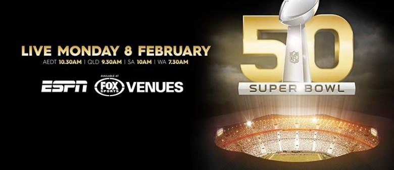 Super Bowl 50 On Screen