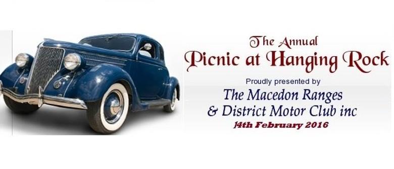 Display Day -  Picnic At Hanging Rock Classic Car Show