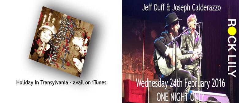Jeff Duff & Joseph Calderazzo
