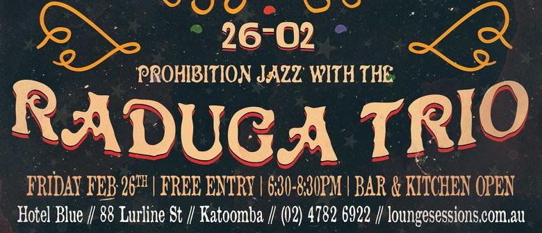 Prohibition Jazz With The Raduga Trio: Roaring 20s Festival