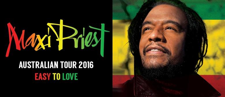Maxi Priest - Easy To Love 2016 Australia Tour