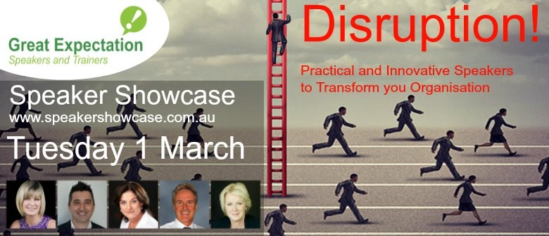 Great Expectation Speaker Showcase: Hot Topic Disruption!