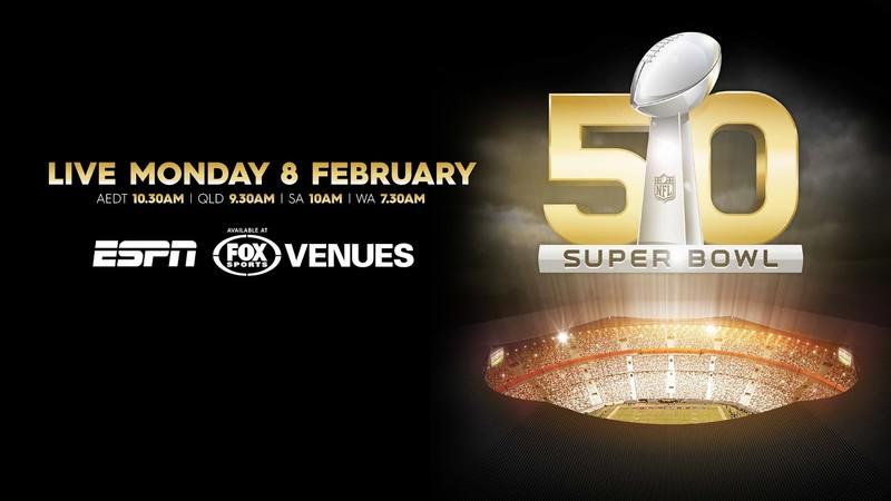 Date of superbowl in Perth