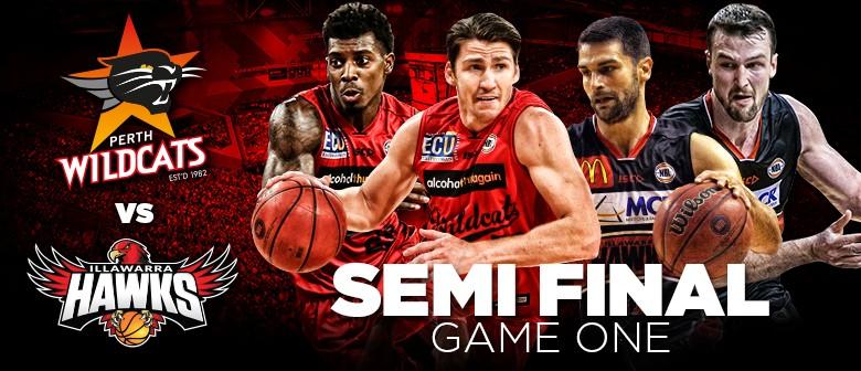 Perth Wildcats Vs Illawarra Hawks - Semi Final Game 1