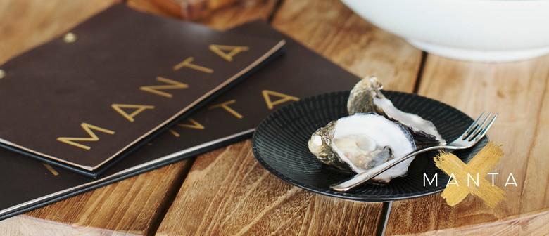 Manta's Oyster Evening