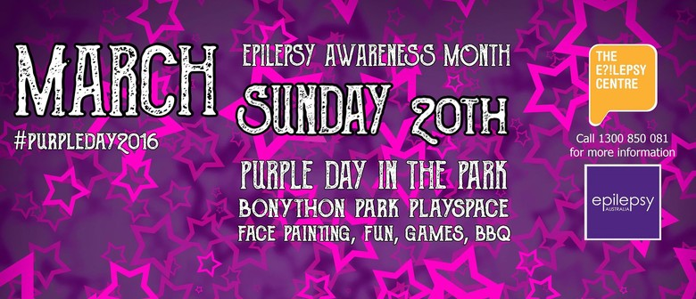 Purple Day In The Park