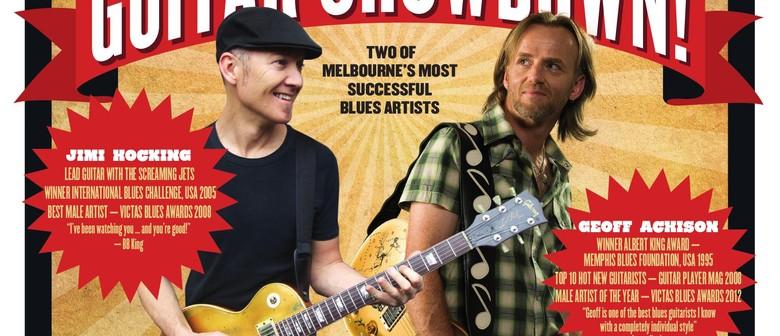Geoff Achison & Jimi Hocking Guitar Showdown