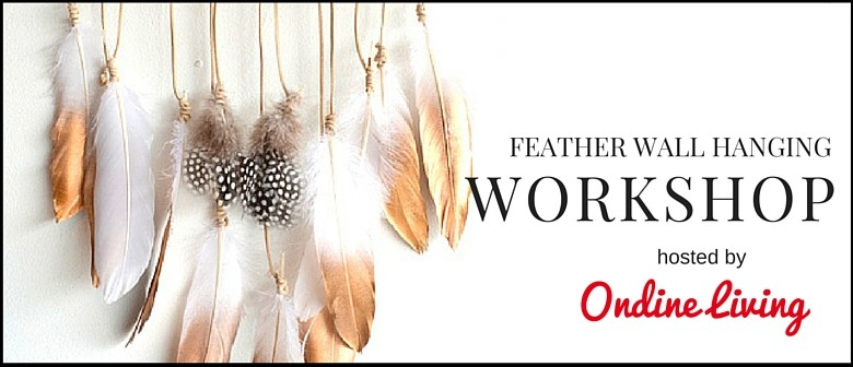 Feather Wall Hanging Workshop