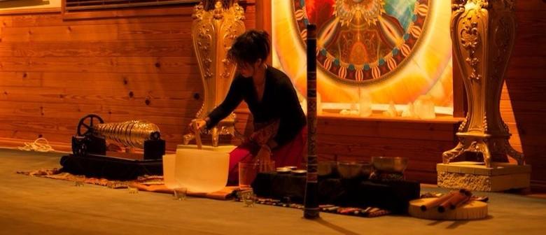 Full-Moon Crystal Armonica Sound Healing Meditation