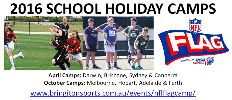 NFL Flag School Holiday Camps