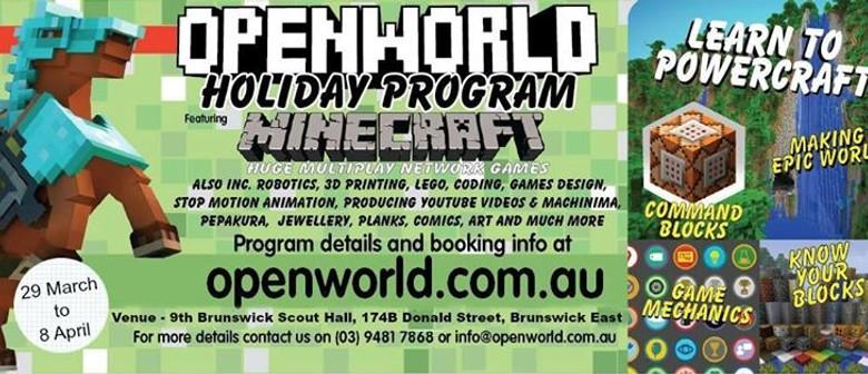Openworld - Easter School Holiday Program