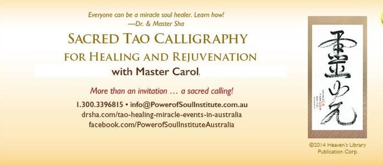 Introduction to Tao Calligraphy and Healing Evening