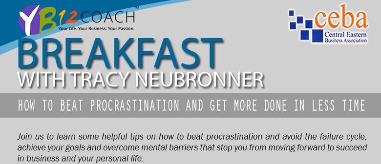 CEBA Business Breakfast With Tracy Neubronner