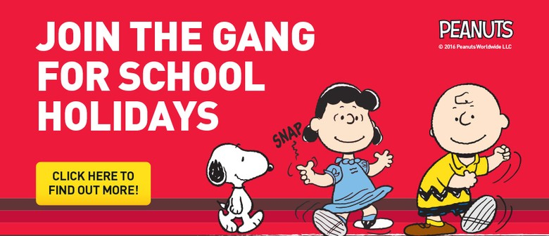 Join the Peanuts Gang These School Holidays