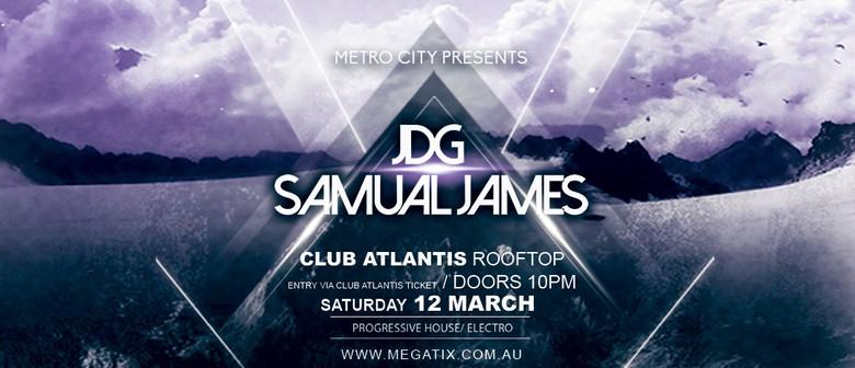 Club Atlantis Rooftop presents JDG and Samual James