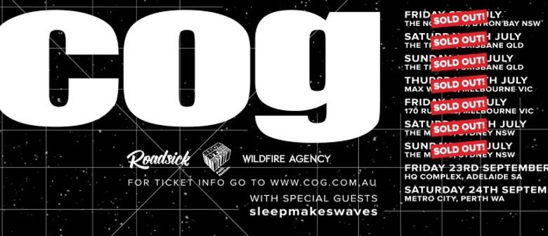 Cog Australian Tour 2016