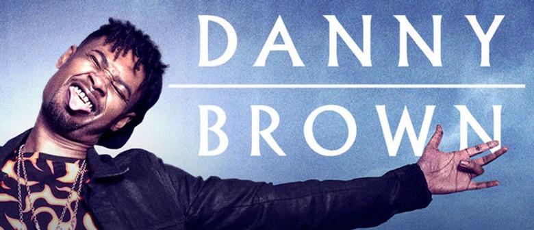 Danny Brown - Australian Tour 2016
