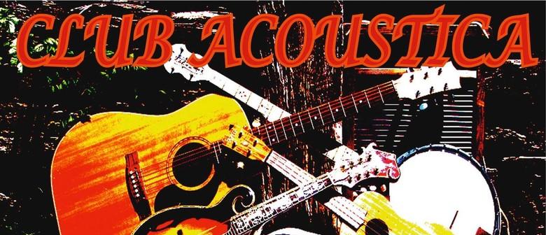 Club Acoustica - Nicky Sandover, Gus McKay & More
