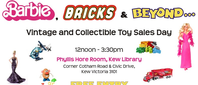 Barbie Bricks and Beyond Toy Sales Day