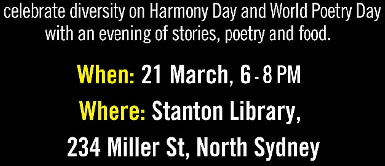 Amnesty At the Harmony Day Poetry Evening