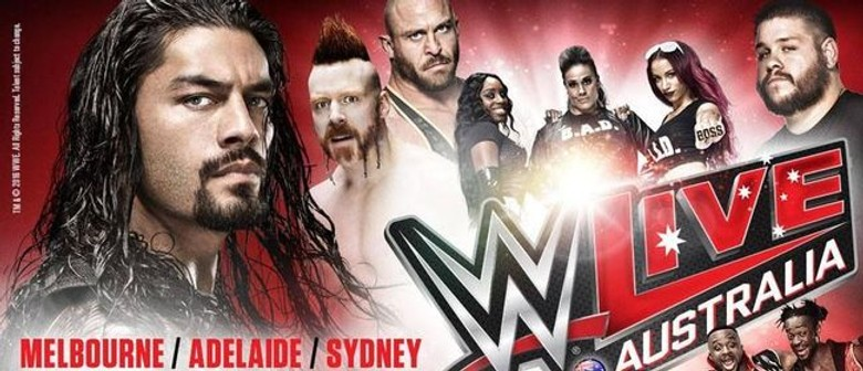 Wwe tour dates in Melbourne