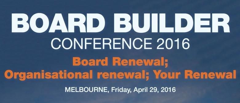 Board Builder Conference 2016