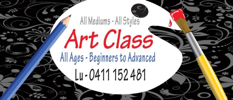 Art Class For Melbourne