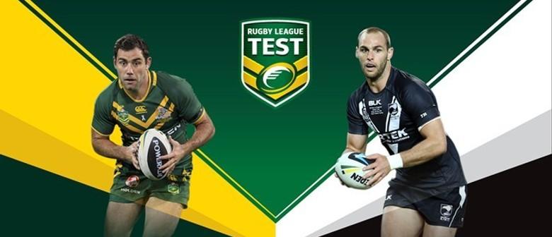 Australia V New Zealand Test Match