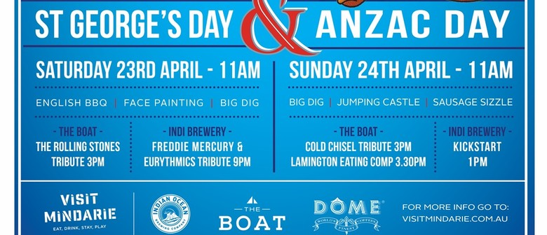 St. Georges Day & ANZAC Day Celebrations