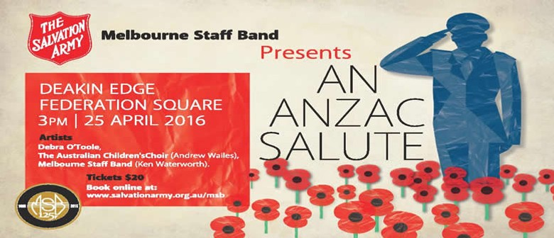 An ANZAC Salute