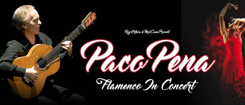 Paco Pena Australian Tour