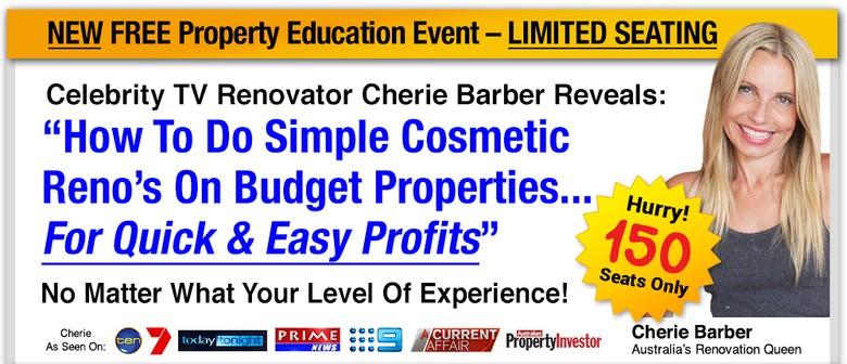 Celebrity TV Renovator Cherie Barber