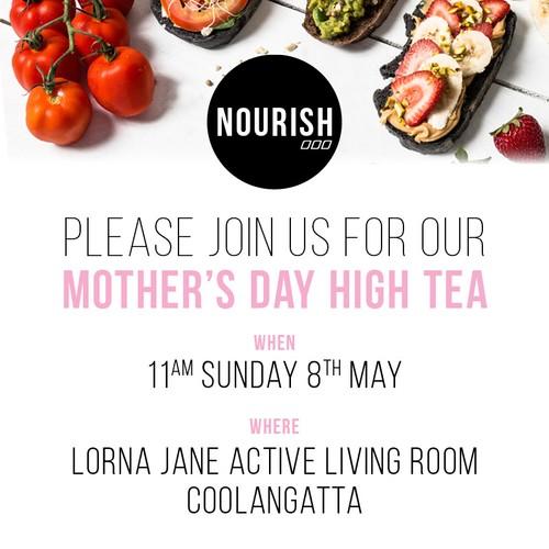Mother 39 S Day Nourish High Tea Gold Coast Eventfinda