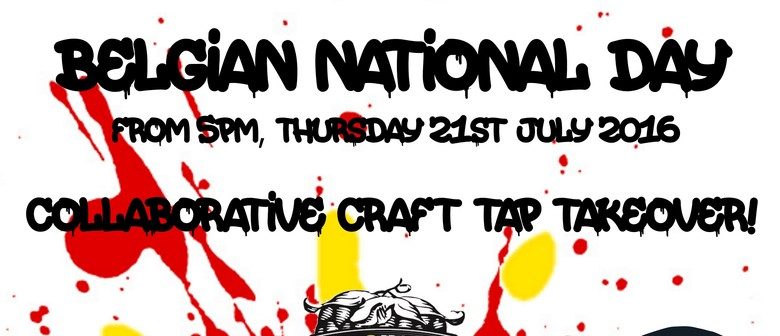 Belgian National Day - Tap Takeover