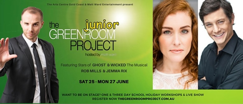 The Greenroom Project Jnr With Rob Mills & Jemma Rix