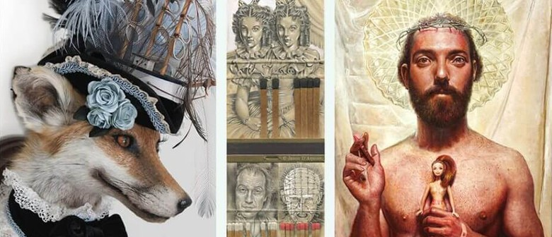 Curios - Taxidermy Art, Paintings and Matchbook Miniatures