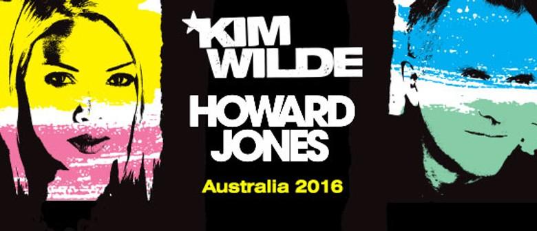 Kim Wilde and Howard Jones
