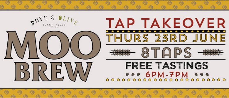 Moo Brew Tap Takeover