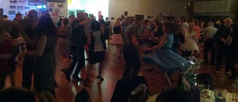 Rock and Roll Dance With Band and DJ