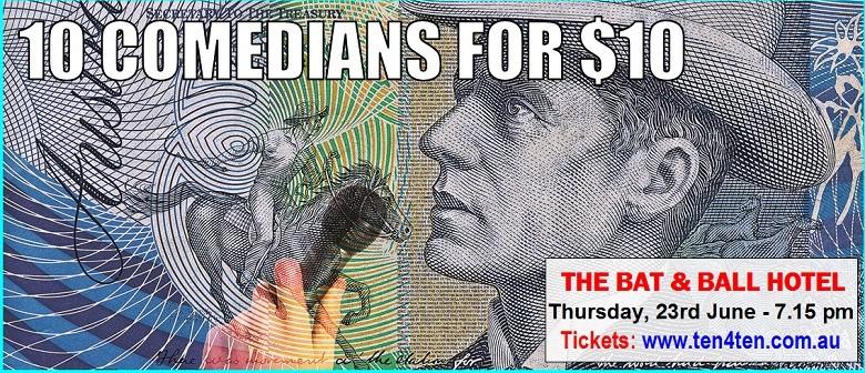 10 Comedians for $10