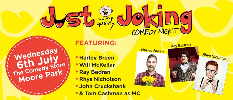 Camp Quality's Just Joking Comedy Night