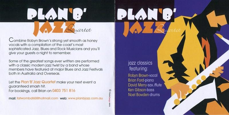 Plan B Modern Jazz Quartet - Sunshine Coast - Eventfinda