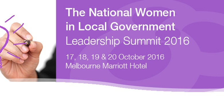 National Women In Local Government Leadership Summit '16