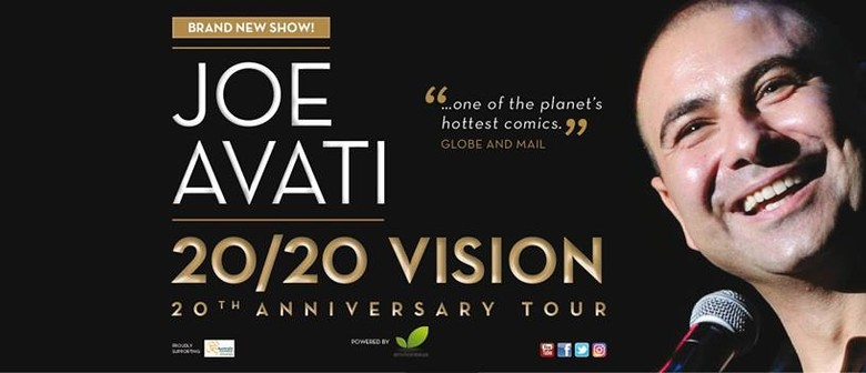 Joe Avati 20th Anniversary Tour