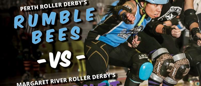 Perth Roller Derby Vs Margaret River Roller Derby