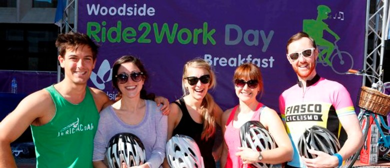 Woodside Ride2Work Day