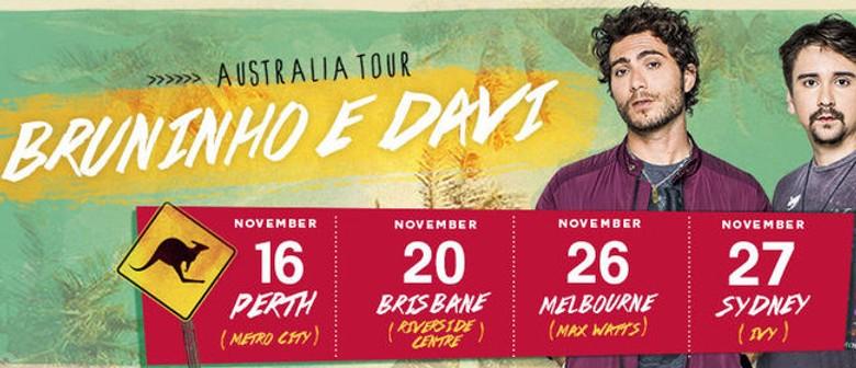 Bruninho and Davi Australian Tour