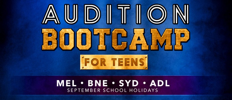 Audition Bootcamp for Teens