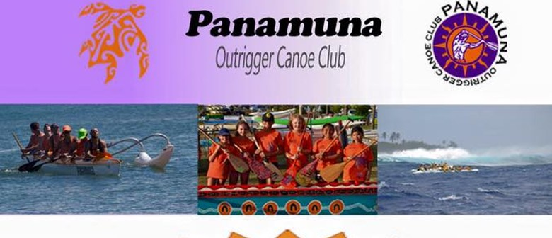 Panamuna Outrigger Canoe - Come and Try Day