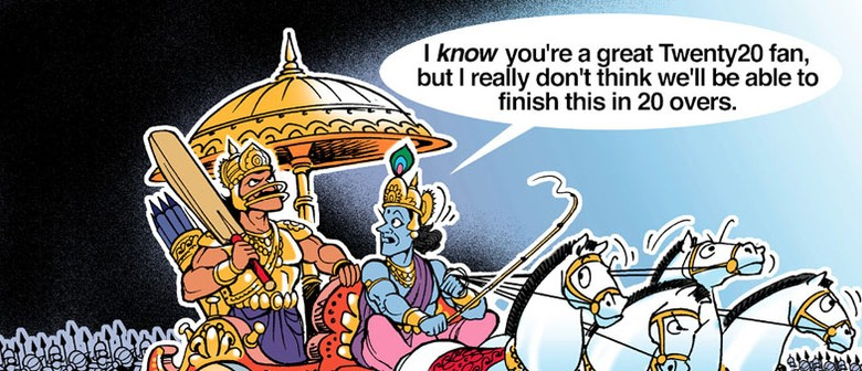 Exhibition By Cartoonist Ajit Ninan